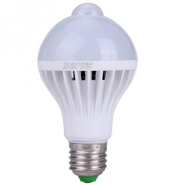 bec led 7w senzor miscare
